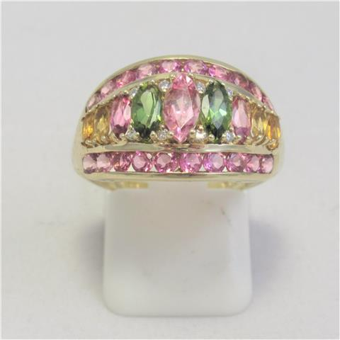 Multi Stone Dress Ring