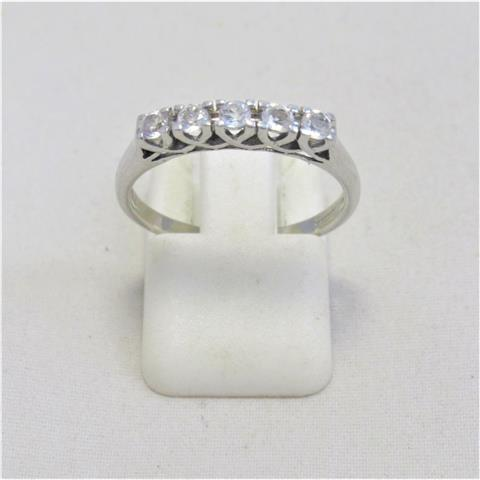 Moonstone Five Stone Ring