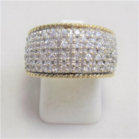 Diamond Set Dress Ring