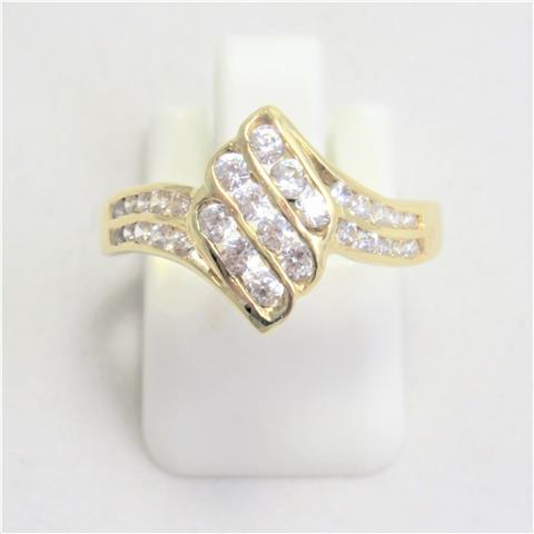Cubic Zirconia Dress Ring