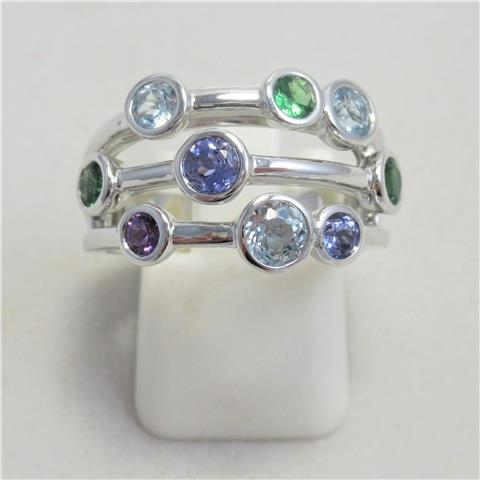 Multi-Colour Bubble Ring