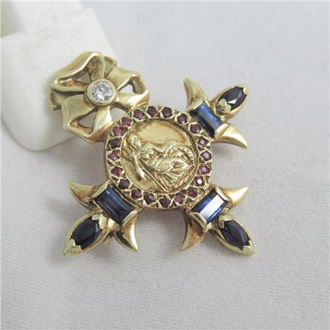 British Empire Reproduction Brooch
