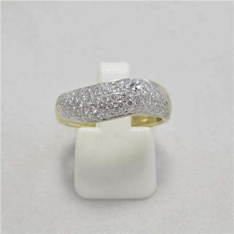 Fancy Diamond Dress Ring