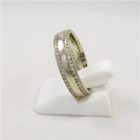 Ladies Diamond-Set Wedding Ring